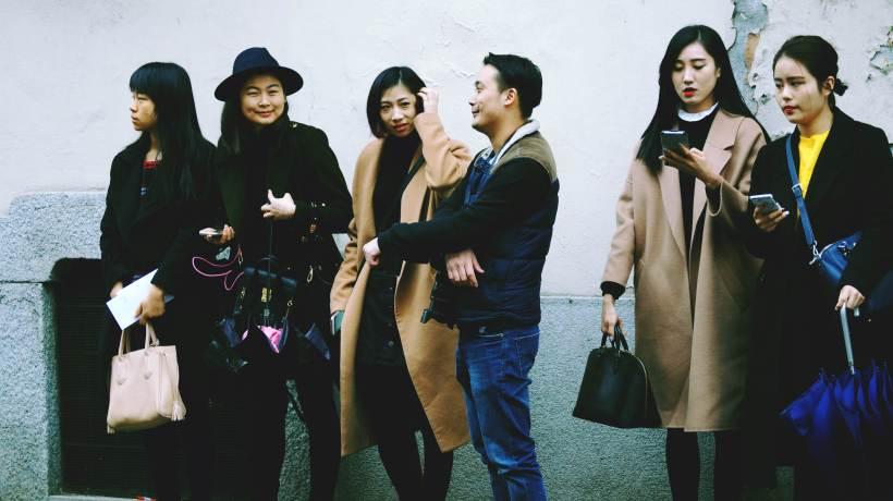 Milan fashion show