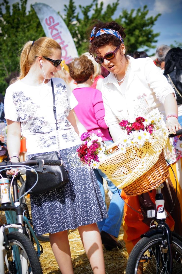 skirt bike parade